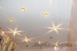 Светильники в натяжном потолке